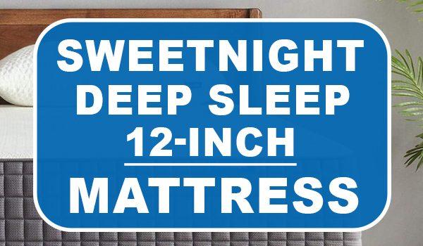 sweetnight 12 inch gel memory foam mattress