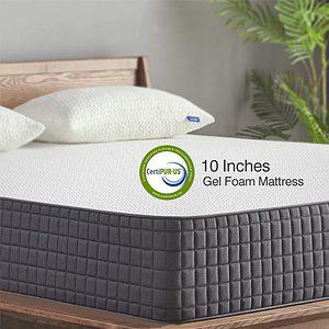 Sweetnight Breeze 10 Inch Full-Size Mattress